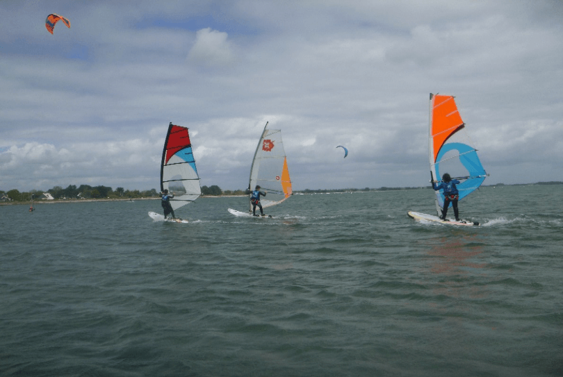 sport section voile
